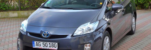 Toyota Prius 2010 szary-ciemny
