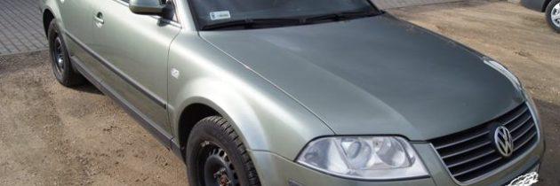 Kradzież Volkswagen Passat b5