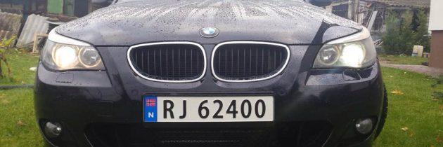 BMW E60 czarna
