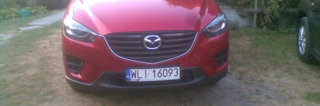 Mazda CX-5 soul red
