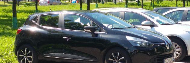 Skradziono Renault Clio IV