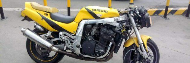 Suzuki gsxr 750