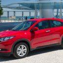 Honda HRV- czerwona
