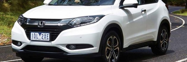 Honda HR-V Executive AT biała