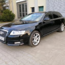 Audi A6 C6 AVANT CZARNE