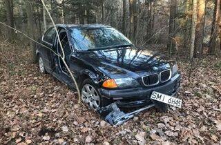 Porzucony samochód Kielce