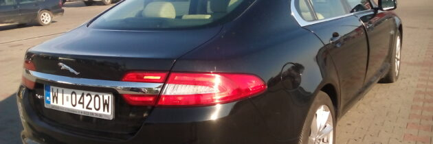 Skradziono Jaguara XF