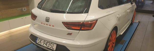 Seat Leon ST Cupra Pakiet Orange