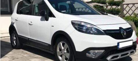 Renault scenic xmod biały