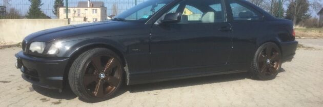 BMW e46 coupe 2001r przed lift