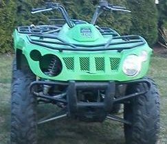 Quad Arctic Cat 400 zielony