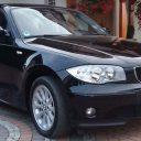 BMW 116i czarne 2007r.