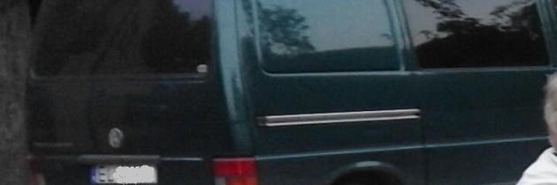 VW Transporter T4 Zielony