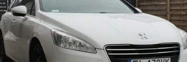 Peugeot 508SW Allure biały 2012