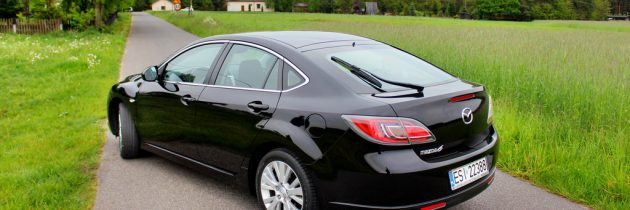 Mazda 6 benzyna 2010r czarna
