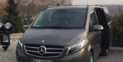 skradziono Mercedes V 250