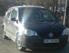 VW POLO przyciemnione szyby