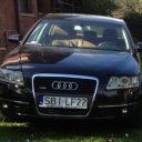 AUDI A6 C6, SEDAN, CZARNE, 2007r