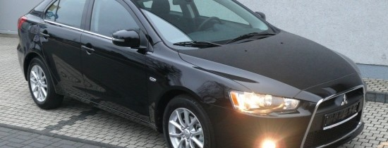 Mitsubishi Lancer – czarny