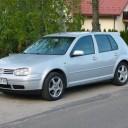 VW Golf IV 1.9 srebrny