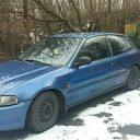 Honda Civic V hatback niebieska