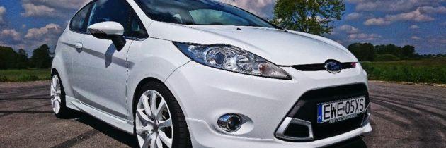 Ford Fiesta ST MK7 biały