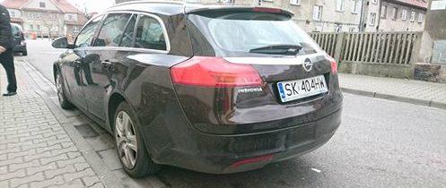 Skradziono Opel Insignia Kombi