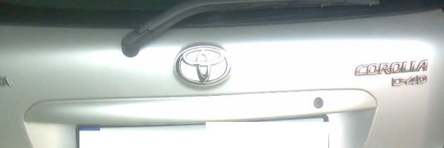 Toyota Corolla E12 D4D Hatchback