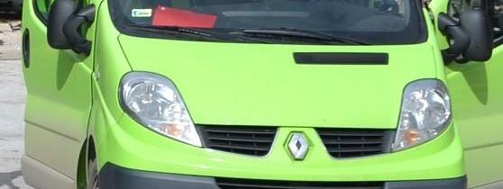 Skradziono Renault Trafic II